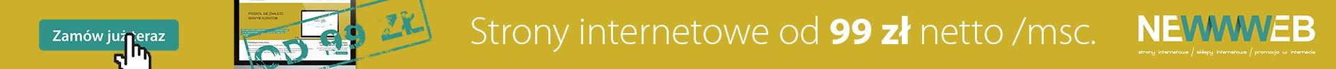 NEWWWEB - lepsza strona sieci - strony internetowe | sklepy internetowe | promocja w internecie